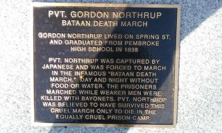 Northrup Plaque Close Up
