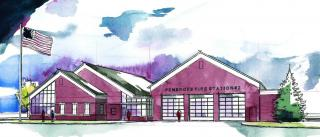 Fire Sub Station - Rendering