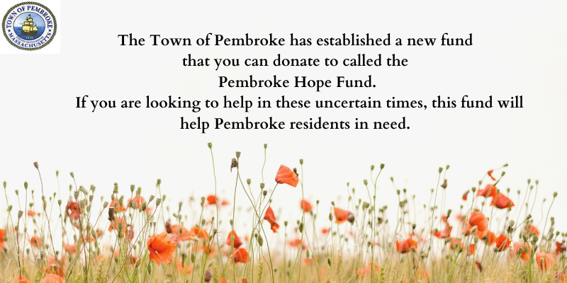 Pembroke Hope Fund established.